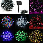 50 100 LED 12M Solar Powered Fairy String Lights Garden Christmas Outdoor Indoor