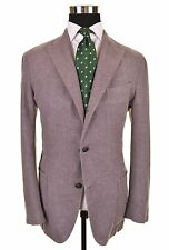Boglioli K Jacket Cotton Linen Unstructured Unlined Blazer Sport Jacket Coat 52