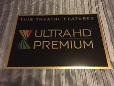 Ultra HD Premium Cinema Sign