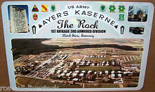 Ayers Kaserne 'The Rock' 1970's Front Gate on a 12x8 Aluminum Sign Made in USA