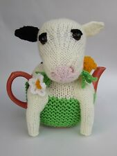 Friesian Cow Tea Cosy Knitting Pattern - to knit your own