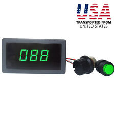 DC 6V 12V 24V PWM Motor Speed Controller With Green Digital Display Speed Switch