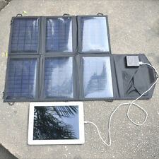 18V 21W Foldable Solar Panel Backup Charger for iPhone 6 plus Laptop Tablet ipad