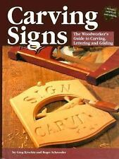 Carving Signs: A Woodworker's Guide