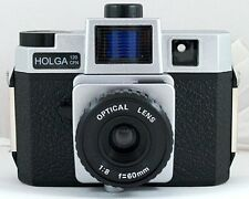 USD - Holga 120CFN / CFN Classic Silver Medium 120 Format Film Camera Lomo