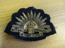 AUSTRALIAN COMMONWEALTH MILITARY FORCES CLOTH BADGE