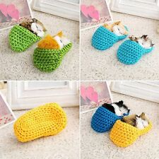 Super Cute Mini Sleeping Cat With Simulation Sounding Appease Doll Toy For Baby