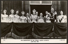 The Coronation of H.M. Queen Elizabeth II - June 2nd 1953 - Real Photo Postcard