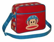 PAUL FRANK - USA EVIL KNIEVEL CABIN/SCHOOL/COLLEGE/SPORTS SHOULDER BAG - RED