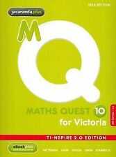 Maths Quest 10 for Victoria 3E TI-Nspire 2.0 Edition + EBookPLUS by Brendan...