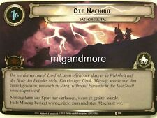 Lord of the Rings LCG  - 1x Die Nachhut  #144 - Das Morgul-Tal
