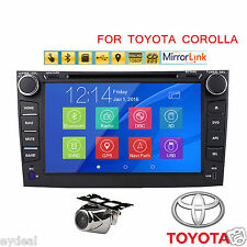 "8"" Windows GPS Car Radio DVD Player For Toyota Corolla 2007 2008 2009 2010 2011"