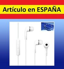 AURICULARES BLANCOS in ear cascos 3.5mm iphone microfono smartphone samsung mic