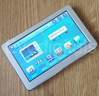 "NEW SILVER 32GB 4.3"" TOUCH SCREEN MP5 MP4 MP3 PLAYER DIRECT PLAY VIDEO + TV OUT"