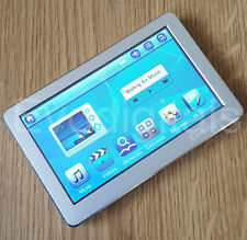 "NUOVO Argento 32GB 4.3 ""Touch Screen MP5 MP4 MP3 PLAYER diretta Riproduci video + TV OUT"