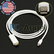 6 FT Thunderbolt Mini Display Port DP To HDMI Cable For Apple Mac MacBook Laptop
