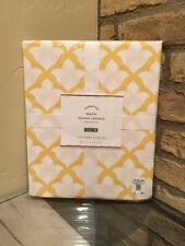 "POTTERY BARN ~ MARLO SHOWER CURTAIN in MARIGOLD YELLOW ~ 72"" SQUARE NEW"