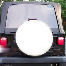 "White Spare Tire Tyre Cover Case Protector 28"" 29"" Fit Suzuki Grand Vitara XL-7"