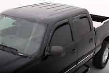 For: GMC SIERRA 2500 HD CREW CAB; 194355 Window Vent Shades IN CHANNEL 2001-2007