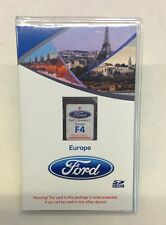 Ford F4 SD mappa navigatore gps europa MFT SYNC2 Originale Map Europe