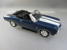 Welly: SS 454 Chevrolet Chevelle  Cabriolet 1971, made in China, metall (SSK42)