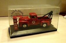 ROAD CHAMPS 1956 FORD F-100 TEXACO TOW TRUCK WITH GAS PUMP-MINT IN BOX