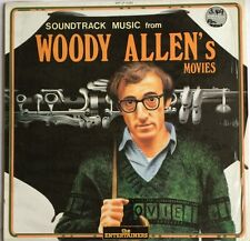 SOUNDTRACK MUSIC FROM WOODY ALLEN'S MOVIES LP 1988 ITALIAN PRESS IN SHRINKWRAP