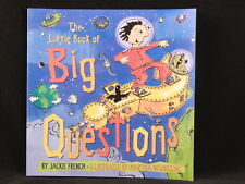 NEW! The Little Book of Big Questions by Jackie French. ISBN 1550376453