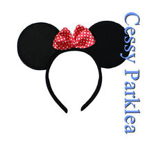 Adult Minnie Mouse Ears Headband Disney Costume Fancy Dress Accessories