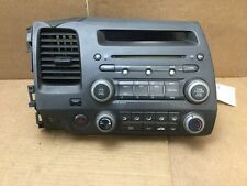 HONDA CIVIC AM FM CD MP3 RADIO ASSY OEM 39100-SNA-A040-M1 2006-2011