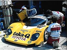 TOMS TOYOTA 89C PHOTOGRAPH 1989 1000KM BRANDS HATCH GROUP C DUMFRIES PROTOTYPE