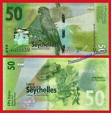 SEYCHELLES ISLAS 50 Rupees rupias 2016 Pick NEW SC / UNC