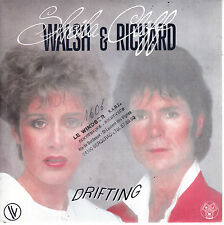 "7"" 45 TOURS FRANCE SHEILA WALSH CLIFF RICHARD ""Drifting +1"" 1983"
