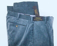 Polo Ralph Lauren Classic Fit Flat Corduroy Pants Stretch Cords $98 W/ Badge NWT