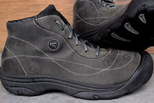 KEEN US 10M Suede Ankle Boots~Olive Gray-Green Womens Fall Casual Walking Boots