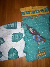 HARRY POTTER TWIN FLAT & FITTED FLANNEL SHEETS