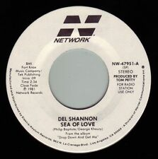 DEL SHANNON Sea Of Love ((**NEW UN-PLAYED 45 DJ**)) from 1981