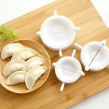 3 X DUMPLING MOULD DOUGH PRESS DIY MEAT PIE PASTRY MAKER TOOL SAMOSA EMPANADA UK