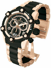 New Invicta 13718 Big Two Tone Day Date Retrograde Swiss Chronograph Watch