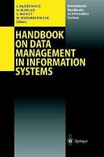 Handbook on Data Management in Information Systems (2003, Hardcover)