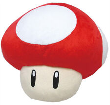 NEW Red Super Mushroom Pillow (1396) Nintendo USA Super Mario Little Buddy Plush