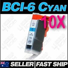 10x Cyan Ink for Canon BCI-3eC 6C MPC600F S400/SP S450 S520 S530D S600 S750 S450