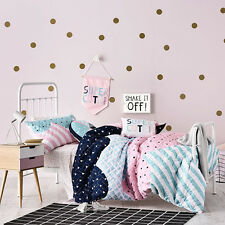 ADAIRS KIDS SUPER CUTE QUILTED COT bed QUILT DOONA COVER SET NEW REVERSIBLE BABY
