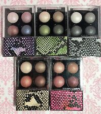 LOT 5 Hard Candy Mod Quad Baked Eye Shadow PINK BLACK BEIGE New SEALED Eyeshadow