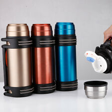 2000ml large capacity outdoor stainless steel vacuum cup thermos water bottle