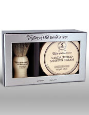 Taylor Of Old Bond Street Sandalwood Shaving Cream & Badger Brush Gift Set