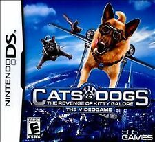 Cats & Dogs: The Revenge of Kitty Galore -The Videogame  (Nintendo DS, 2010) NEW