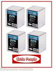 4 x ULTRA PRO 150 TRADING CARD COUNT HARD PLASTIC BOX 2 PART STORAGE CASE NEW