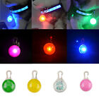 Interesting Flashing LED Light Pendant Safety Night Tag For Pet Dog Cat Puppy