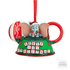 Authentic Disney Parks Dumbo - Baby's First Christmas Ear Hat Ornament